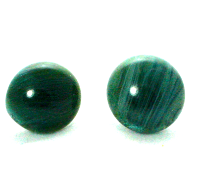 Earings Green Blue Aggets