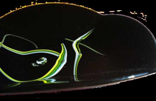 Black Fold Bowl