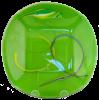 Green Swirl Fold Bowl
